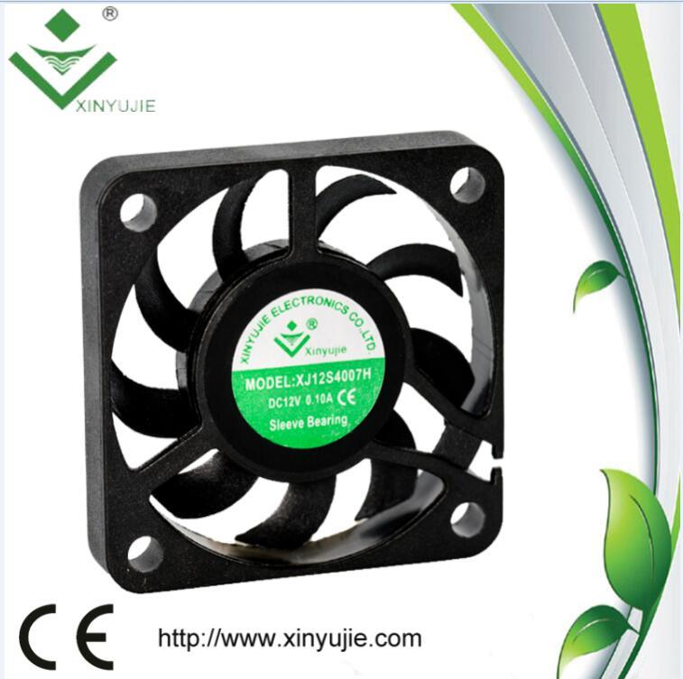 IP67 Waterproof 40mm 4cm 12V 4007 Customized Industrial Fan