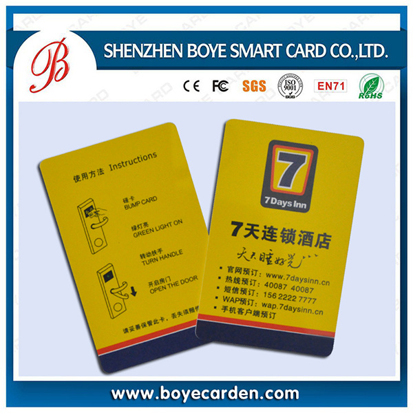 PVC Laminated Printable Member Smart Card for Access Control Identification