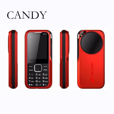 2g 2.4 Inch Big Speaker Big Battery Mobile Phones