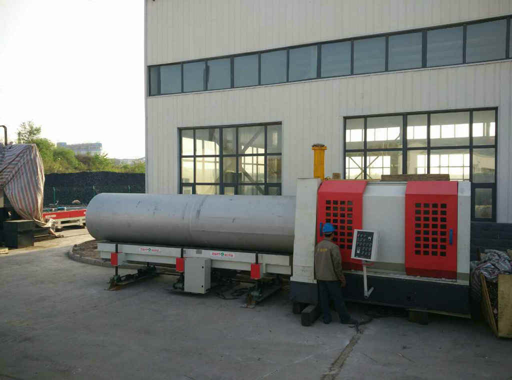 CNC Pipe End Bevelling Machine; High Speed CNC Pipe Bevelling Machine