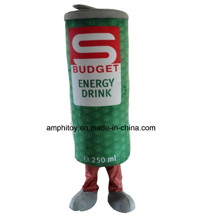 Customized Cans Character Mascot Costume for Wear