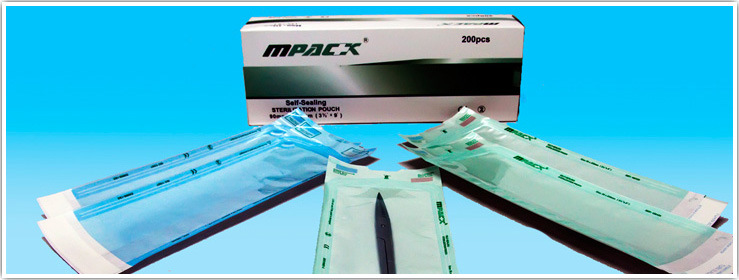 ISO, CE, TUV, FDA Approved Self Sealing Pouch with Sterilization