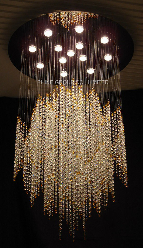 Phine Ceiling Lamp with K9 Crystal for Home or Hotel