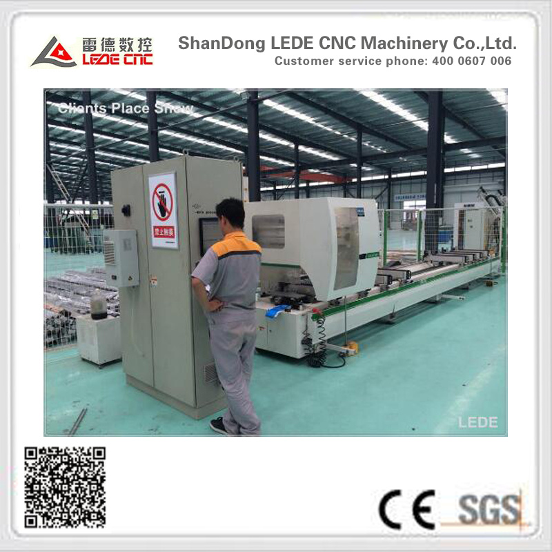4 Axis Milling Machine with 9 Cutters