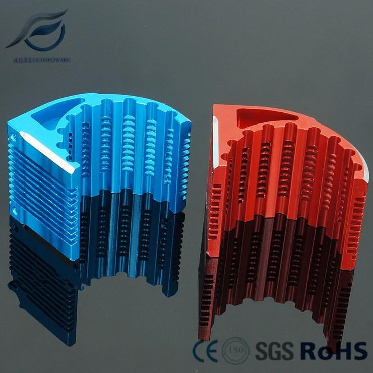 OEM CNC Motor Aluminum Alloy Radiator for RC Car