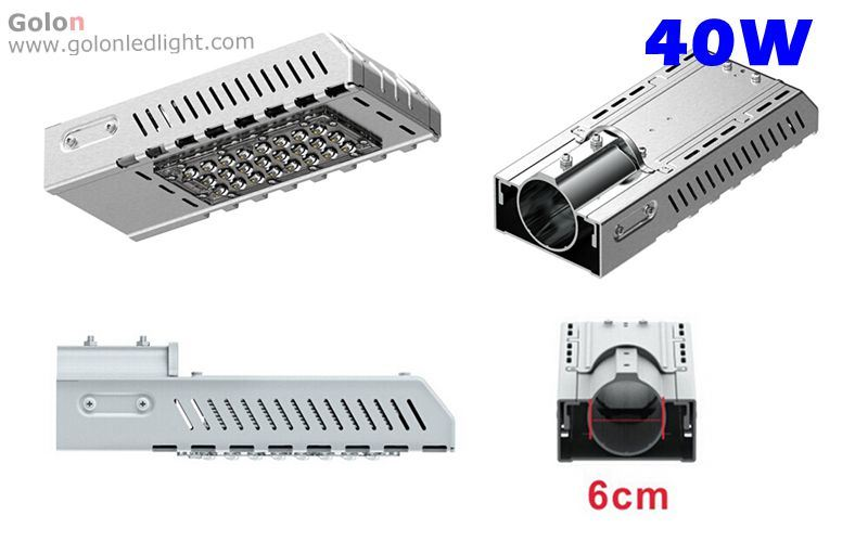 2015 Hot Sale New Design IP65 30W 40W 60W 90W 120W 150W 180W Module Solar LED Street Light