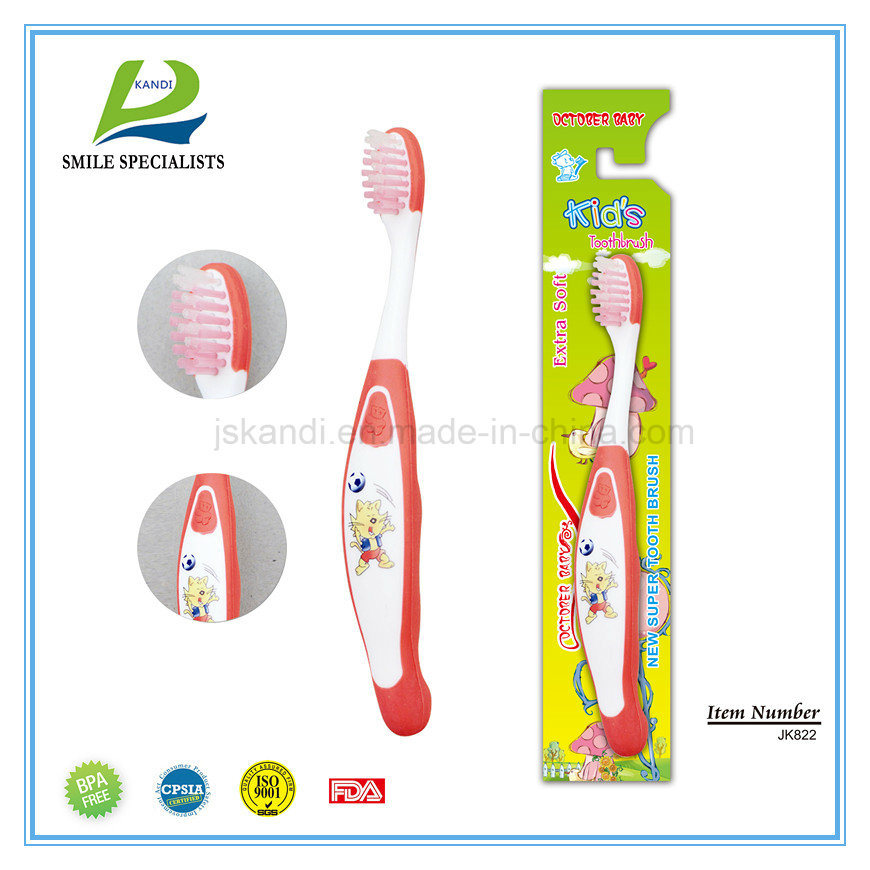 Cartoon Children Toothbrush with Cartoon Printing