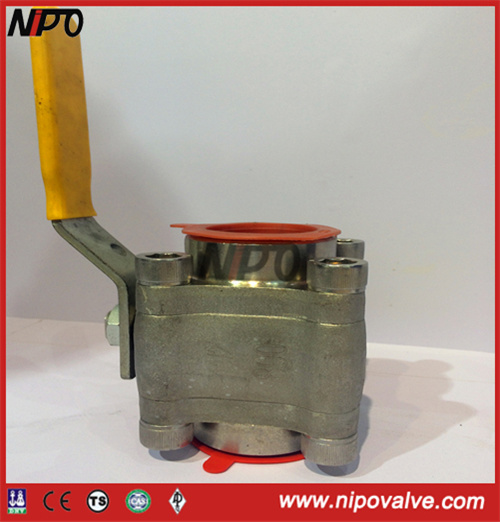 Forged Steel Thread End Floating Ball Valve