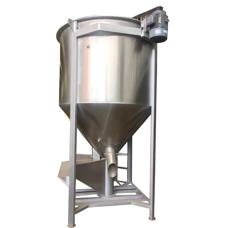 Stainless Steel Plastic Color Mixer/Blender with 1500kg Capacity