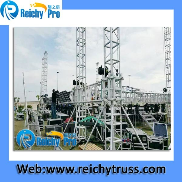 Used Stage Truss for Sale Outdoor Concert Stage Truss