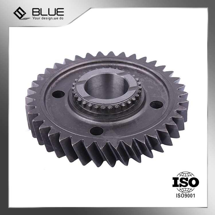 titanium investment casting-China High Quality Helical Gear f