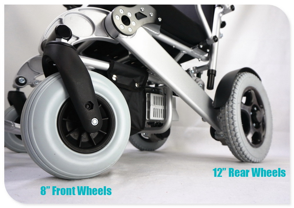 Tiny 6L Foldable and Portable Electric Wheelchair