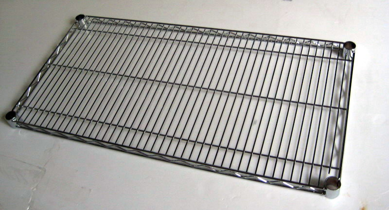 Easily Clean Adjustable Metal Wire Garage Sundries Storage Rack