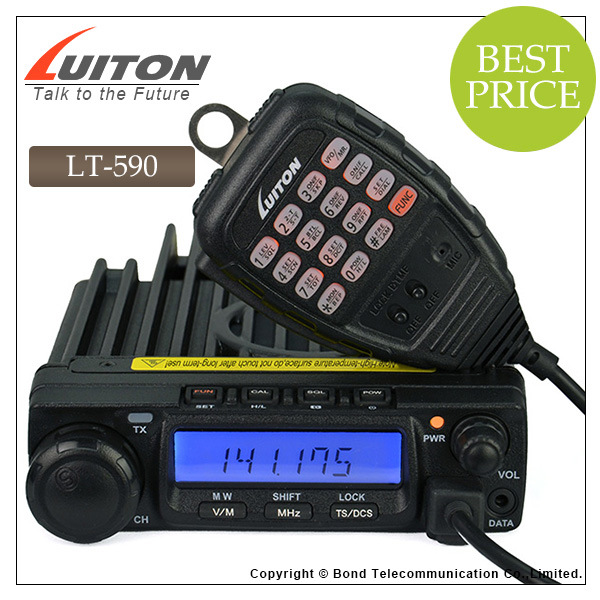 Luiton Lt-590 Ctcss/Dcs/Dtmf/ 2tone/5tone Decodes/Encodes VHF Mobile Transceivers