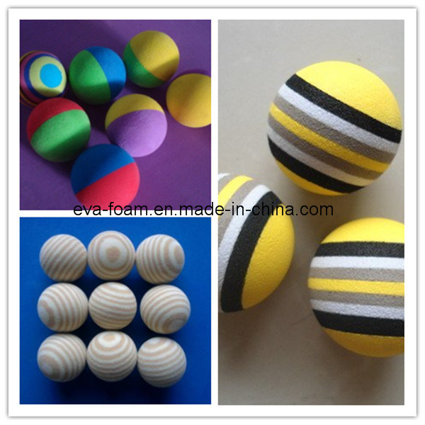 Best Selling Custom Bouncing EVA Ball with Printing Logo
