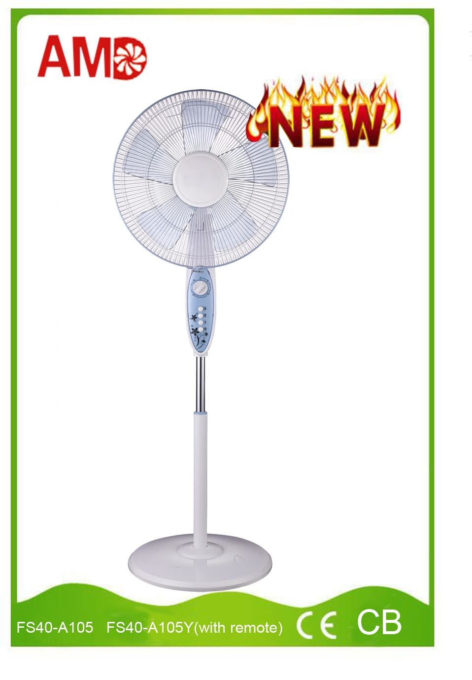 2016 Hot-Sale Stand Fan Pedestal Fan with Ce Certificate (FS40-A105)