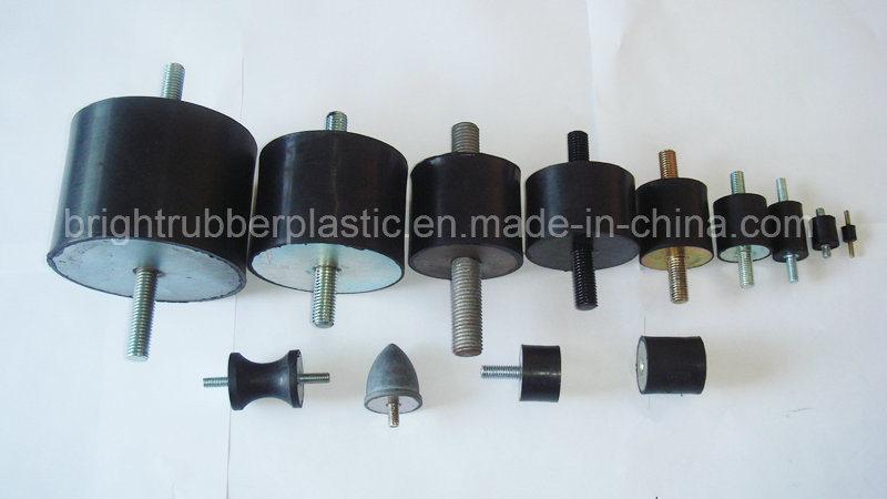 Ts16949 60duro Black Natural Rubber Bumper/Rubber Product