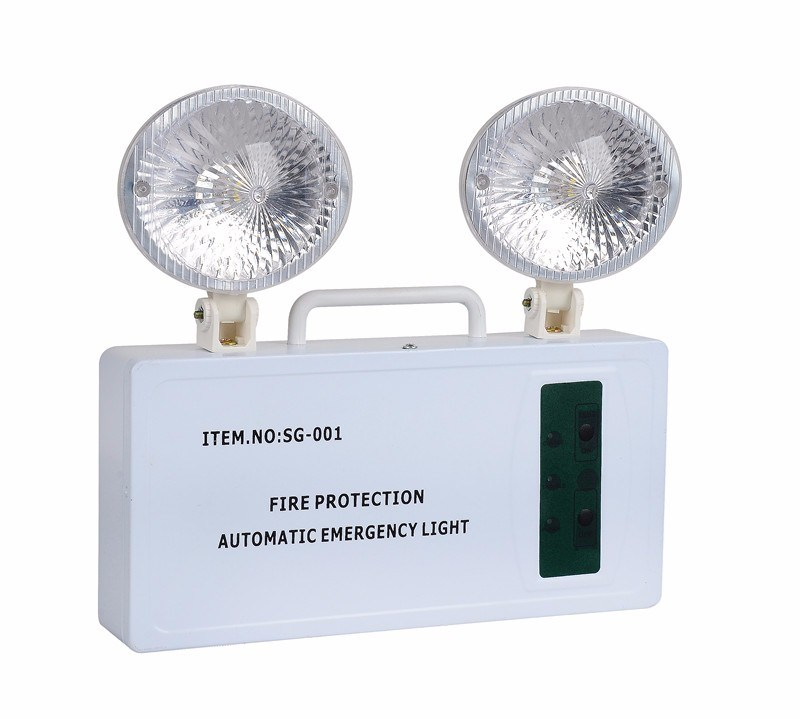 High Quality COB LED Emergency Double Spot Light