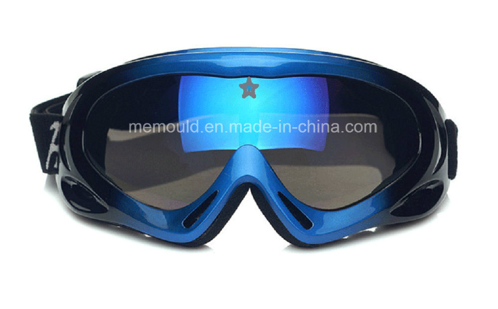 Skii Goggles Mould with Class 1 Lens Mould and Frame Mould