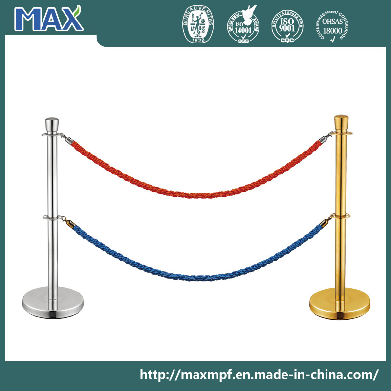 Stainless Steel Dual Ropes Stanchion