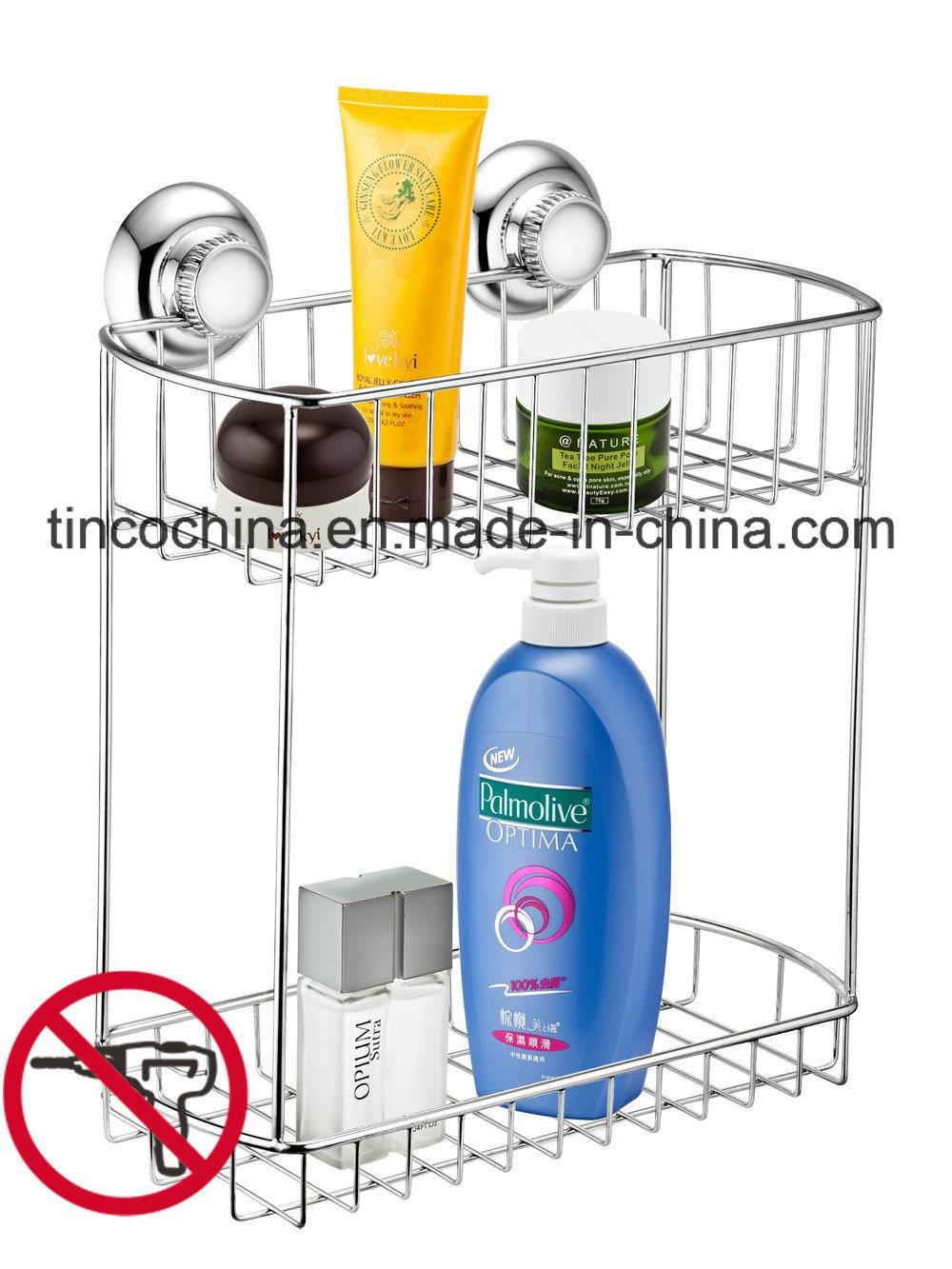 Rectangular Basket Stainless Steel 18/8 Bath Shower Organizer
