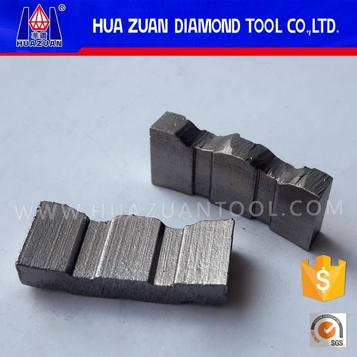 Diamond Core Drill Bit Segment for Construction