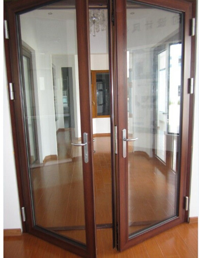 Aluminum Casement Door for Project