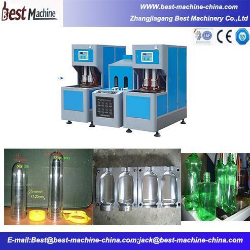 Semi Automatic Bottle Blowing Machine