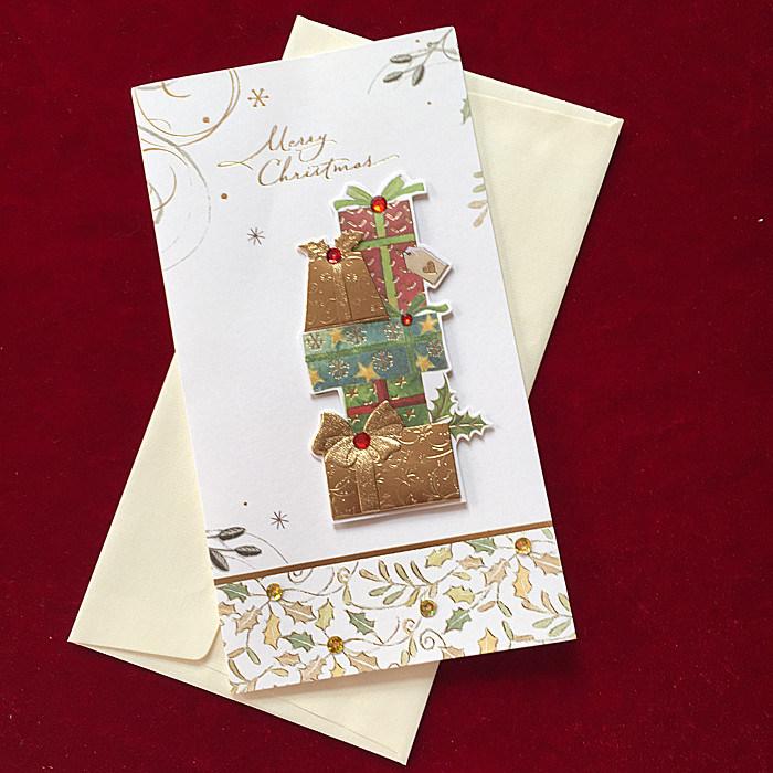 Merry Christmas Card, Christmas Greeting Card