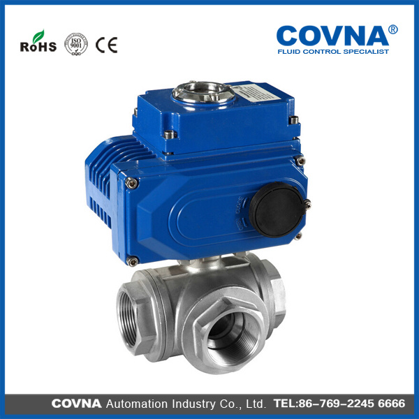 Covna Stainless Steel Electric Ball Valve