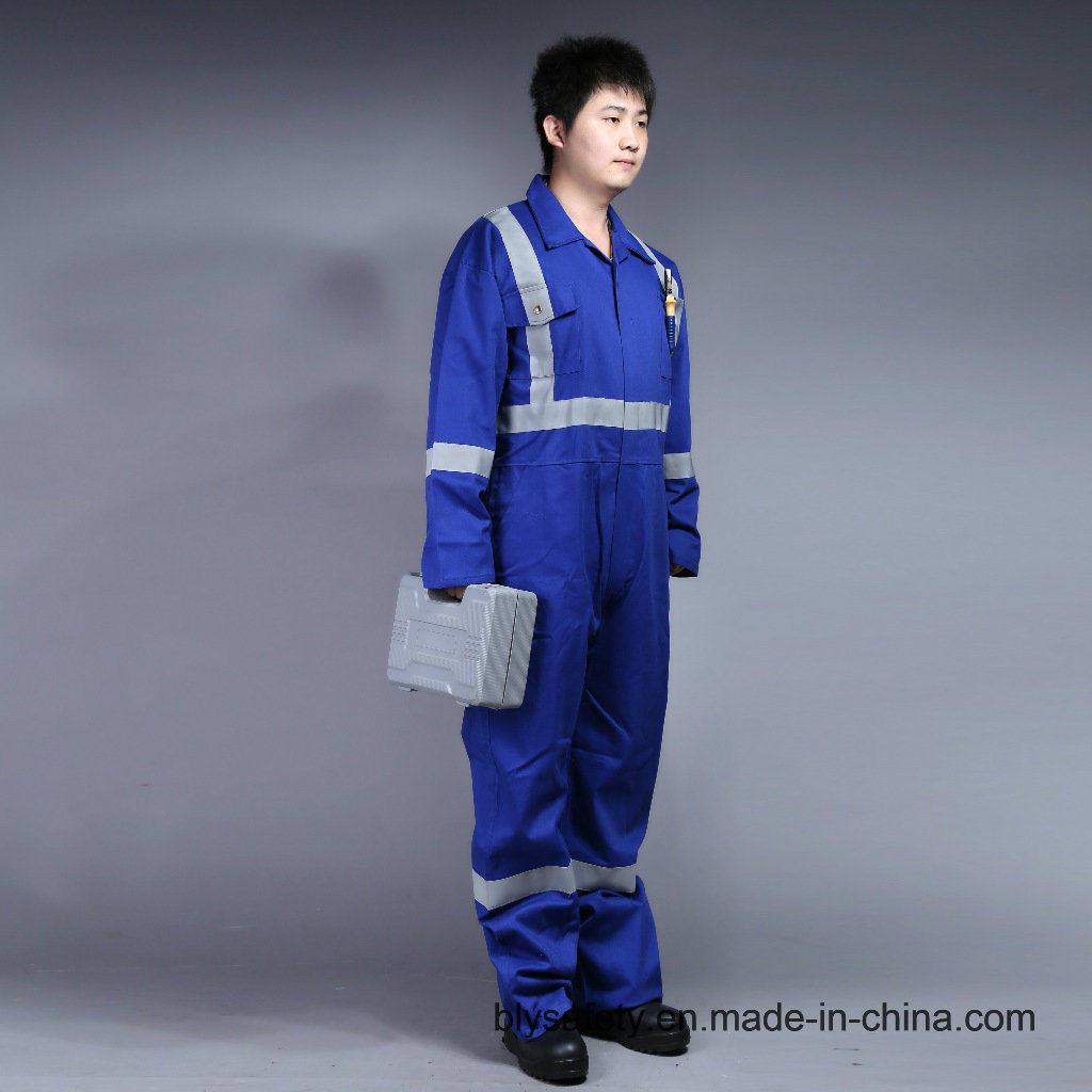 100% Cotton Proban Flame Retardant Safety Protective Clothing with Reflective Tape