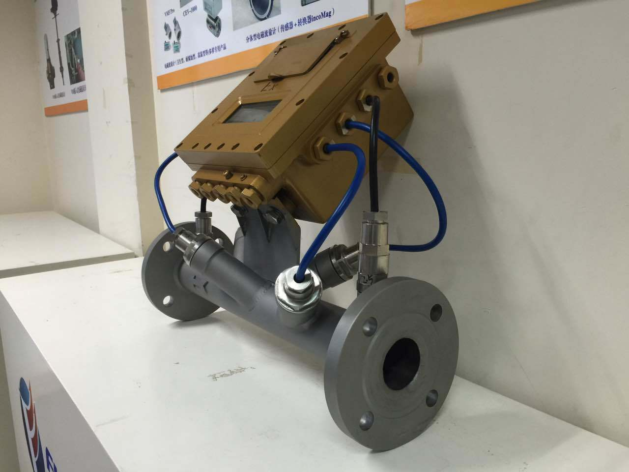 Ultrasonic Flow Meter for Gas and Liquid