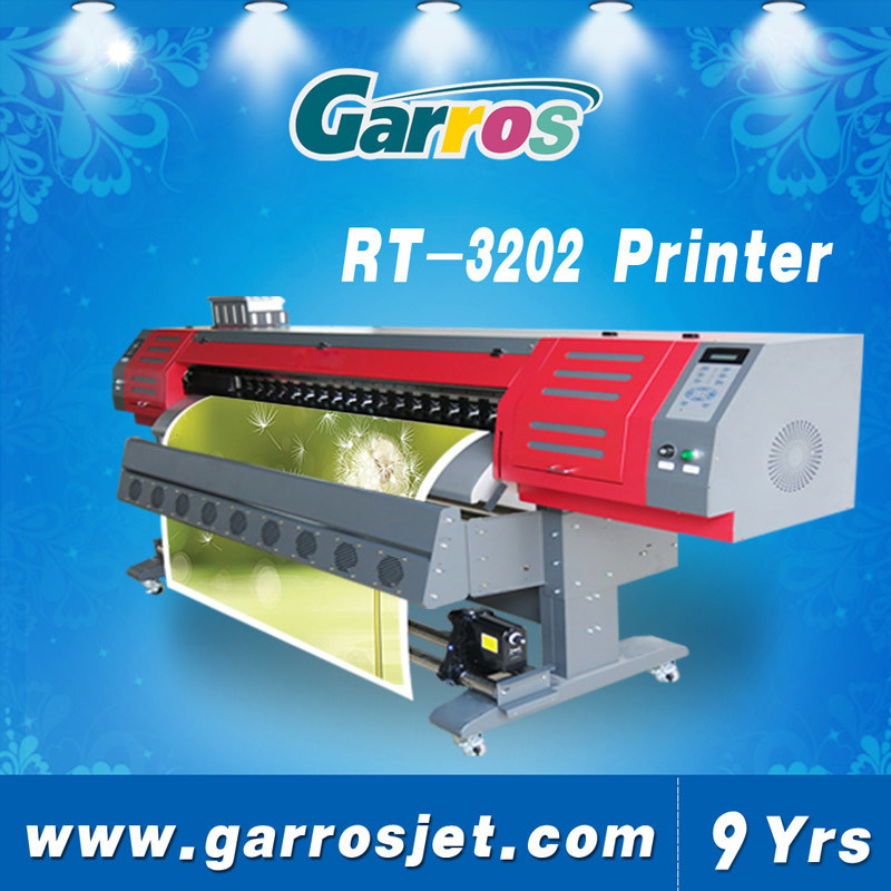 Garros Wide Format 3200mm Digital Eco Solvent Printer Machine for Flex Banner
