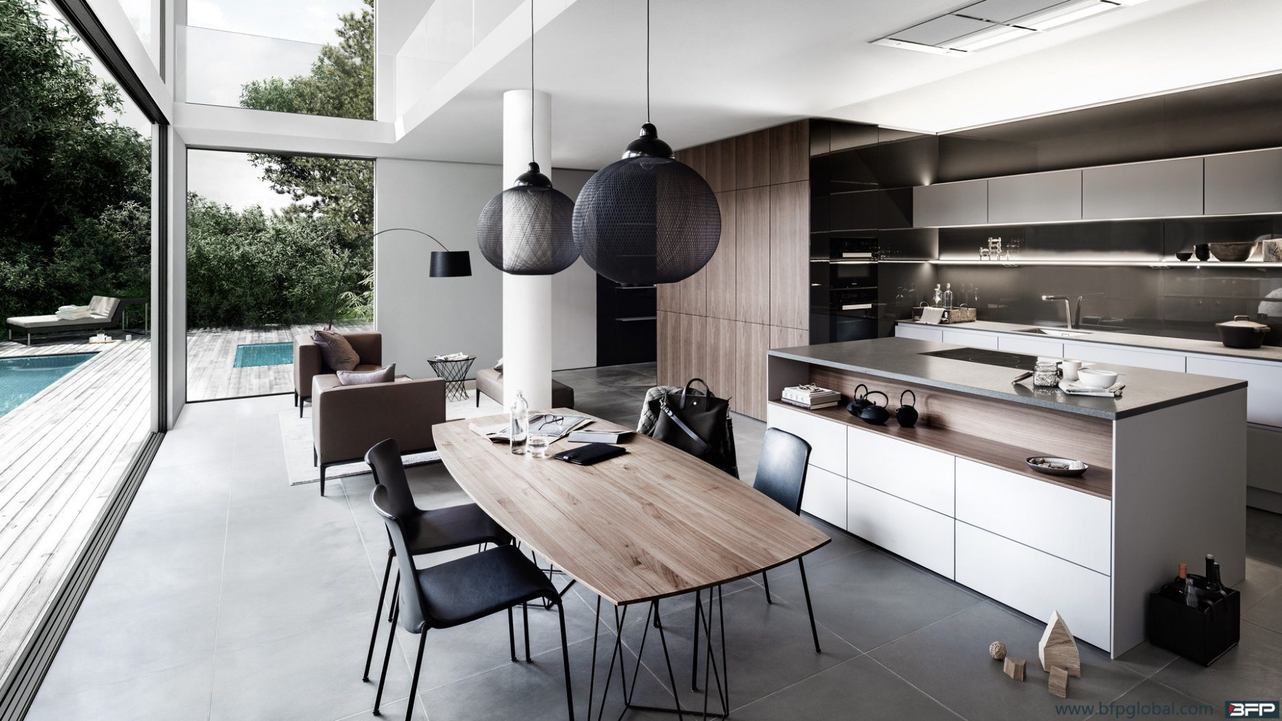 Australian Style Modern Kitchen Furniture Lacquer Kitchen Cabinets