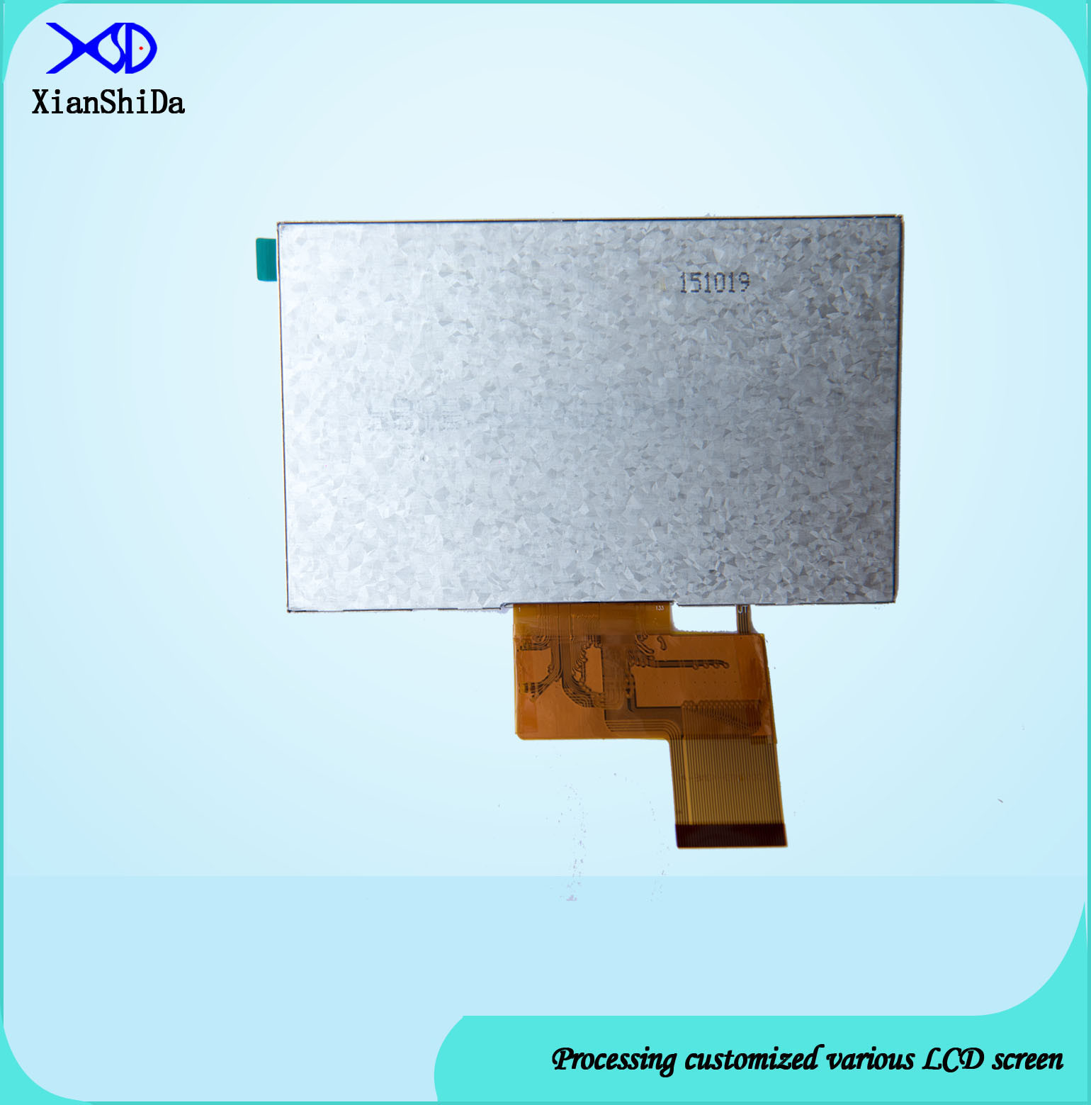 5.0 Inch LCD Screen with 800 CD/M2 Brightness Display