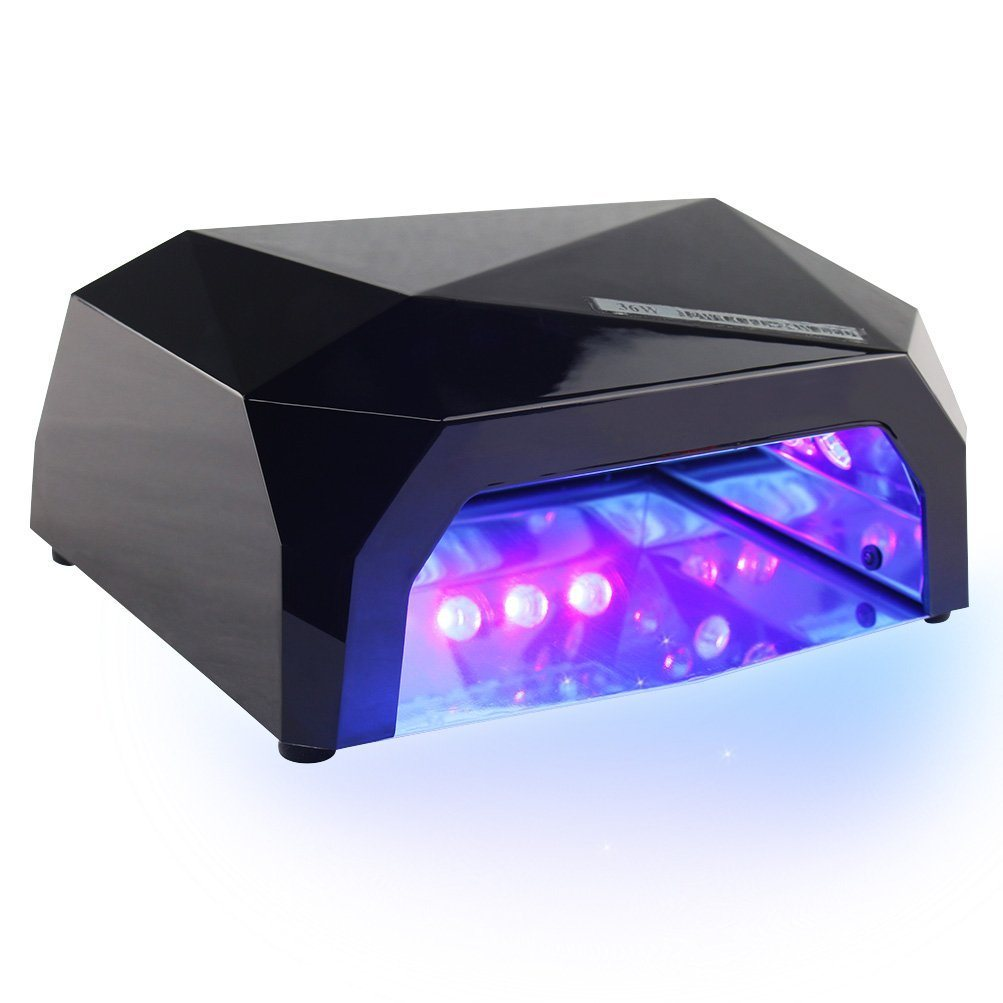 36W Curling Nail Gel Polish Dryer LED Nail Lamp