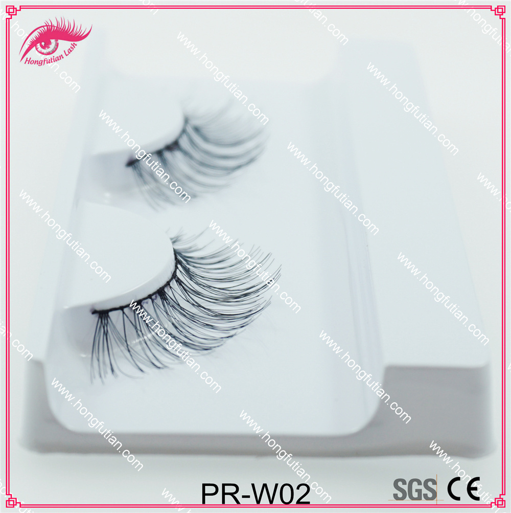 Top Quality Human Hair Eyelash Soft Lashes Wholesale Factory in Qingdao