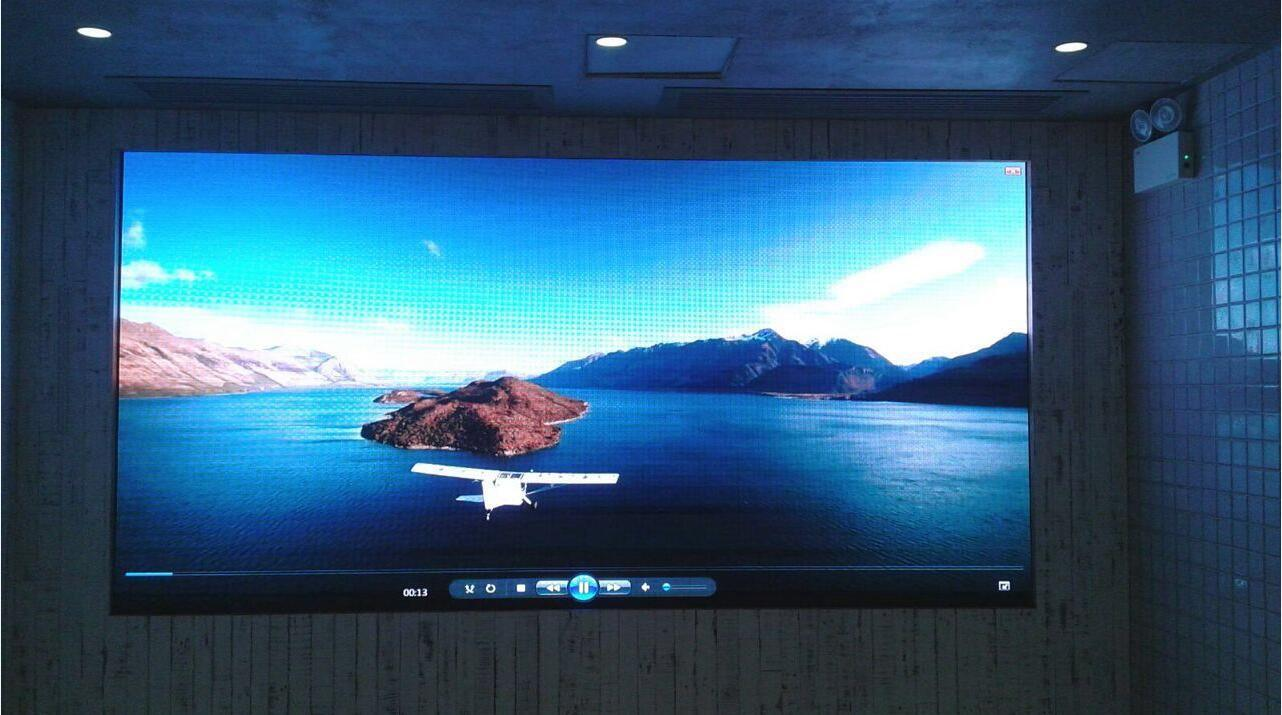 Front Service Full Color P3 Indoor Advertising LED Display Screen