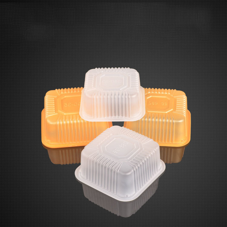 factory wholesale color food blister packing moon cake box(pet box)
