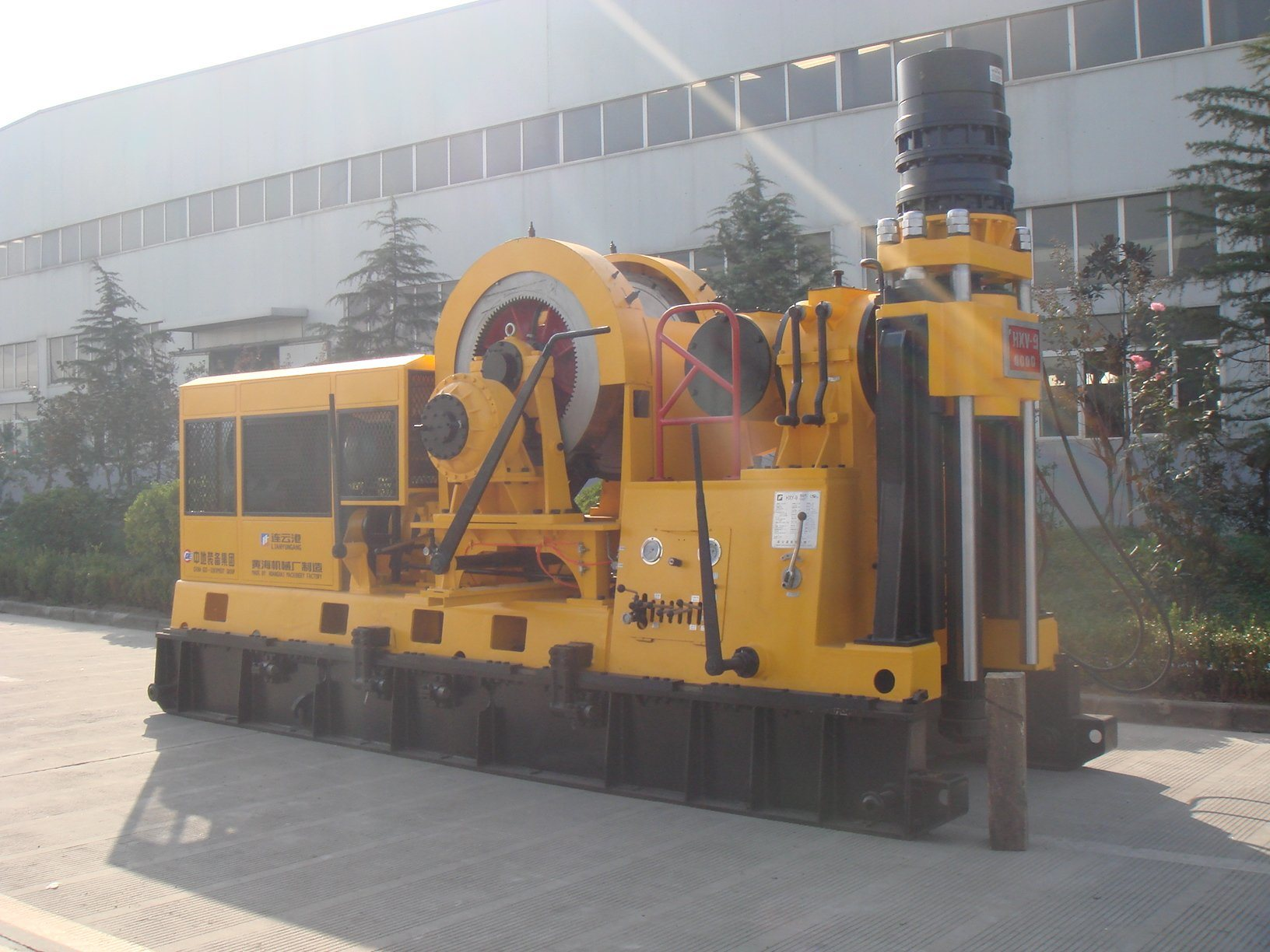 Spindle Type Core Drilling Rig (HXY-9B) with 4200m Drilling Capacity