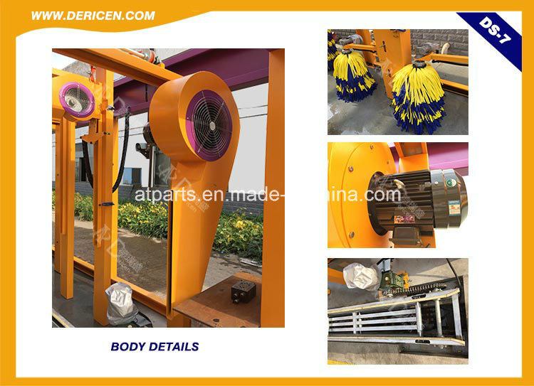 Dericen Ds7 Automatic Tunnel Car Wash Machine with Stable Quality