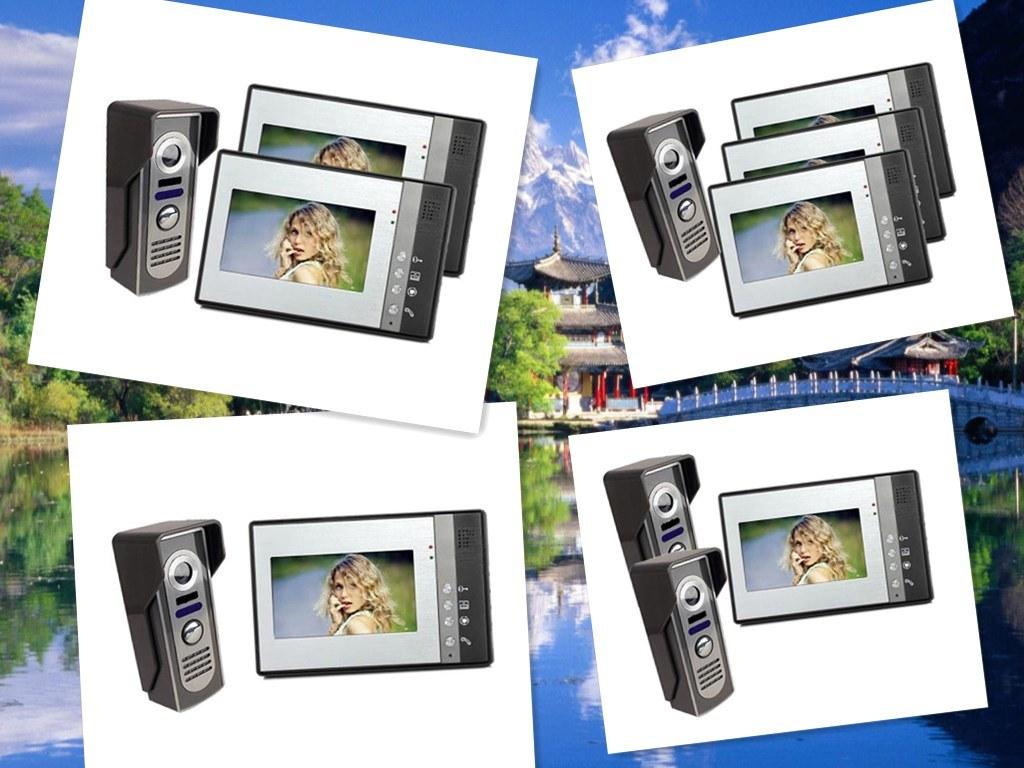 Home Security Intercom Video Door Phone Door Bell