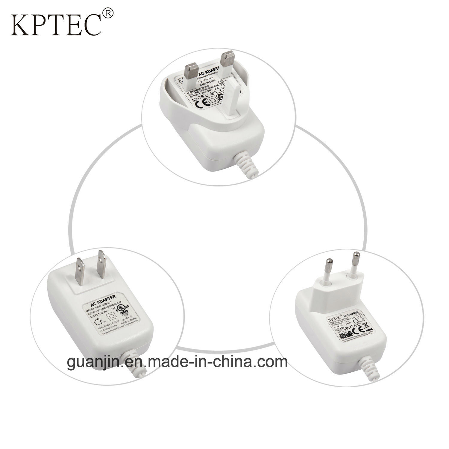 Switching Adapter with Ce Certificate for Small Home Appliance