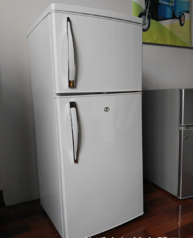 215L DC Compressor Solar Energy Powered Freezer Refrigerator Fridge