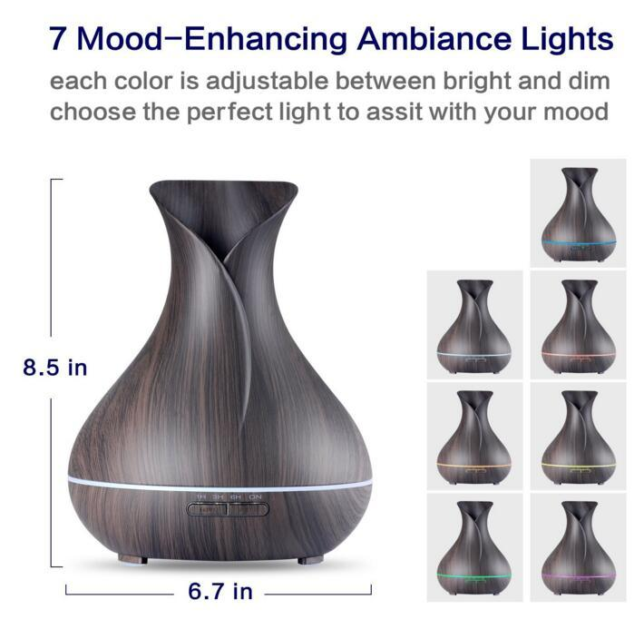 Automatic Electricity Essential Oil Humidifier Diffuser