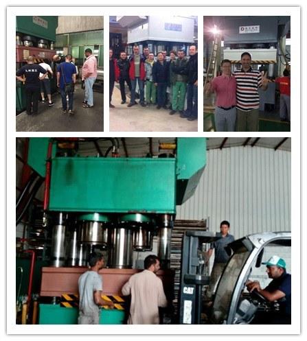 Double Action Hysraulic Press Machine