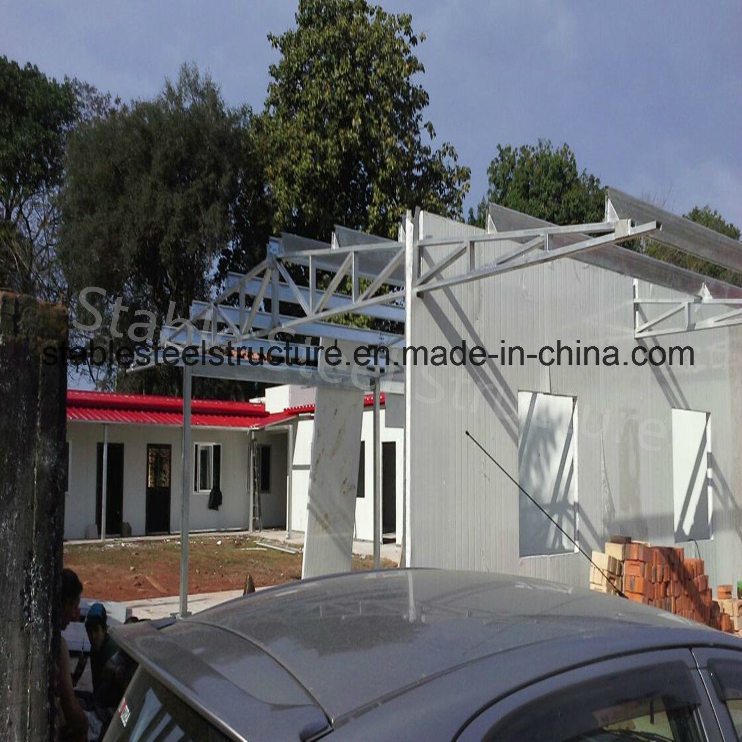 Prefab Assembled Steel Structure House From Factory Direct Sale