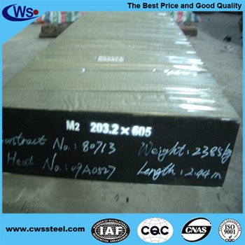 High Quality M2/1.3343/Skh51 High Speed Alloy Tool Steel