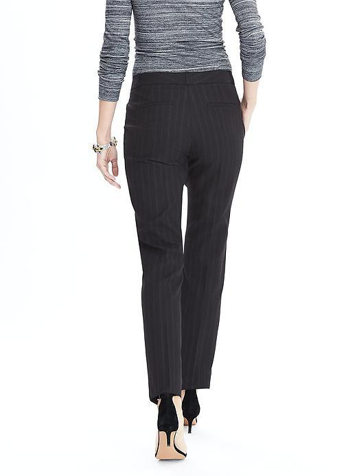 Stripe Black Business Office Lady Suit with High Quality
