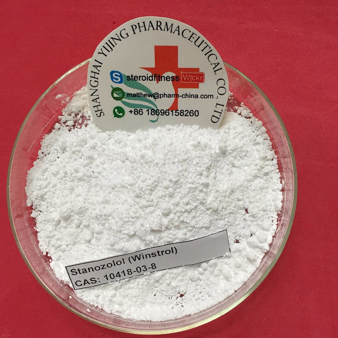 Oral Steroid Powder Winstrol/Winny/Stanz CAS: 10418-03-8